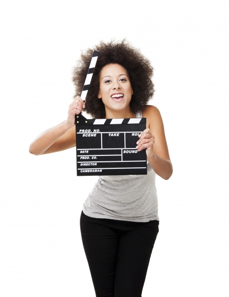 3946194-woman-with-clapboard